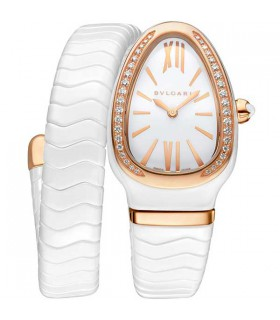 Bulgari Serpenti Gold ceramic 35MM - 102613
