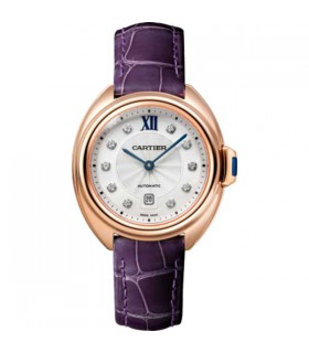 Clé Rose Gold Diamond Automatic 31MM - WJCL0031