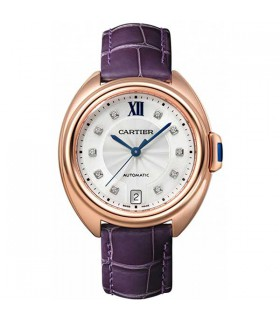 Clé Rose Gold Diamond Automatic 35MM - WJCL0032