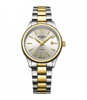 Rotary Oxford Two-Tone Gold Quartz 32MM - LB05093/03