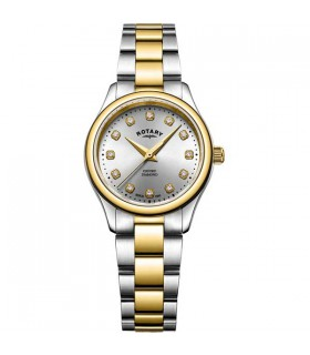 Rotary Oxford Two-Tone Gold Diamonds 28MM - LB05093/44/D