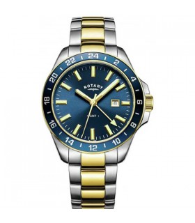 Rotary Havana two-tone GMT Quartz 42MM - GB05082/05