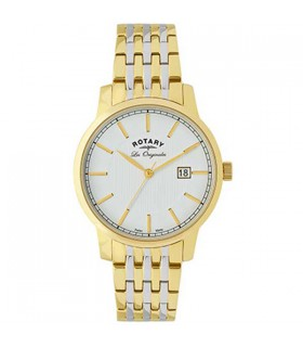 Rotary Les Originales two-tone Quartz 38MM - GB90079/03