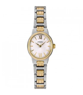 Olivie Two-Tone Bracelet Quartz Watch - LB02747/01