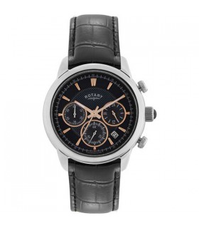 Monaco blk Chrono Quartz 40MM - GS02876/04