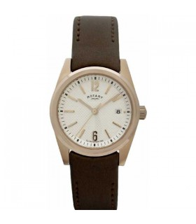 Rotary RGP brown leather Quartz - LS02415/18
