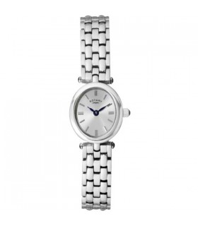 Rotary Cocktail White Quartz Watch - LB02083/02