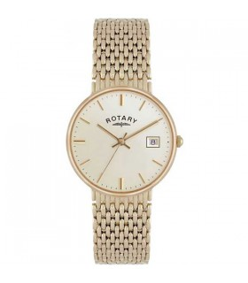 Gents Yellow gold Quartz 33MM - GB10900/03