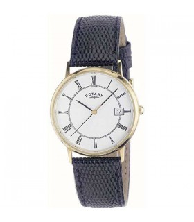 Rotary Mens Gold Quartz watch - GS11876/01