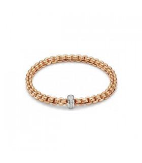 Flex'it Olly 18ct gold diamonds bracelet - 721B BBRM