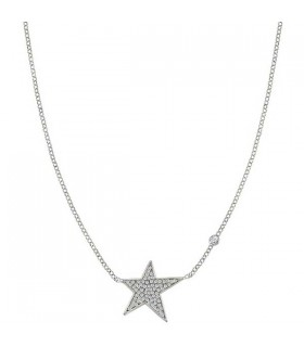 STELLA silver necklace large - 146709 010
