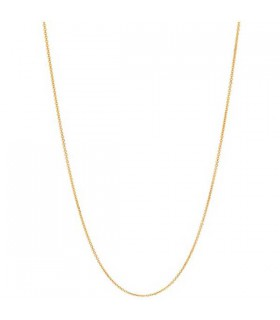Yellow gold plated chain 45cm - 5022.0811