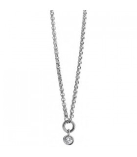 SYMPHONY steel necklace with cz - 026201 001