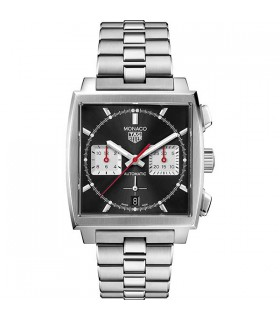 Tag Heuer Monaco Black Heuer 02 Watch 39MM - CBL2113.BA0644