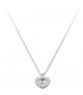 Love in heart pendant with chain -1G09612BB5450