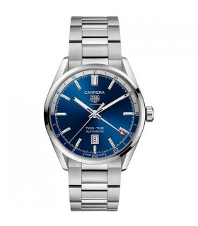 Tag Heuer Carrera Twin-Time automatic 41MM - WBN201A.BA0640