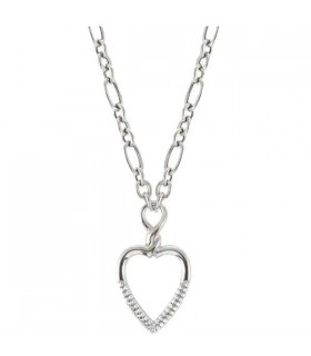 Nomination Endless heart silver necklace - 149116 001