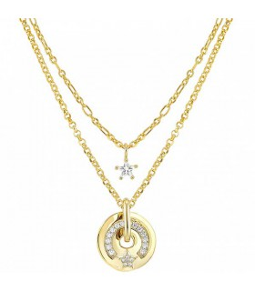 Nomination SENTIMENTAL double yellow gold necklace - 149204 002
