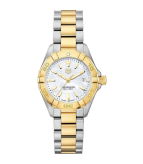 Aquaracer two-tone Quartz Watch 27MM - WBD1420.BB0321
