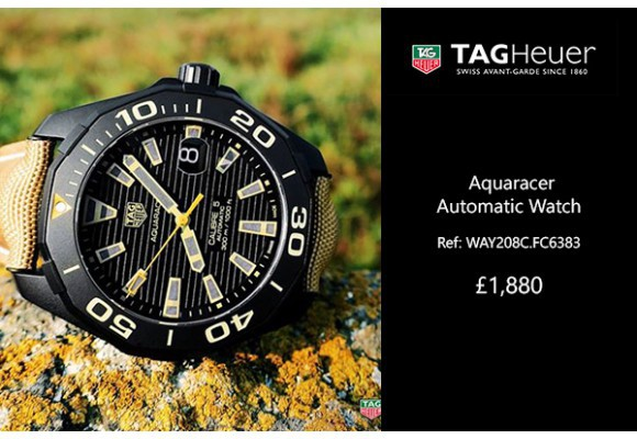 Tag Heuer Aquaracer Automatic Watch – WAY208C.FC6383